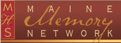 Maine Memory Network logo