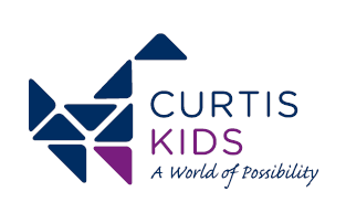 Curtis Kids dino logo
